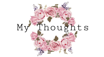 my thoughts graphic