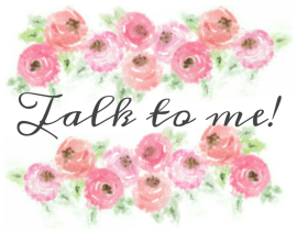 watercolor talk to me graphic
